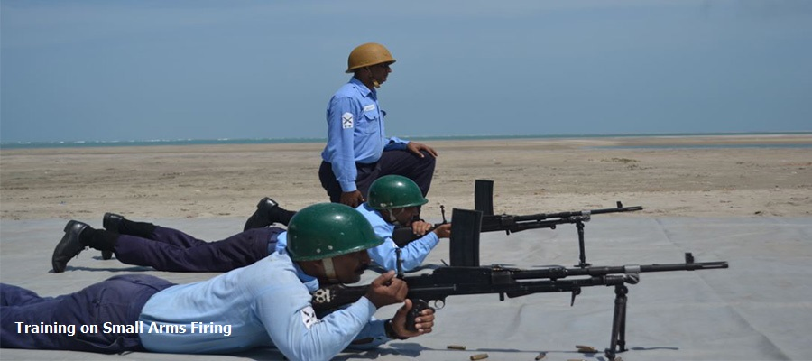 Training on Small Arms Firing